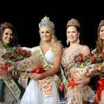 Contestants of beauty pageant, Teresa Fajksova won the title of Miss Earth 2012, on 24 November, in the Philippines