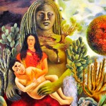 Philosophical painting by Frida Kahlo