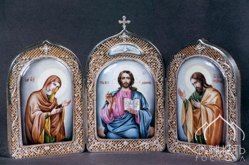 Skladen (three icons), Rostov finift