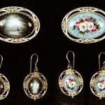Traditional Rostov finift jewellery