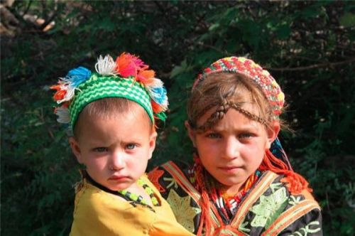 Mysterious Kalash people in Pakistan