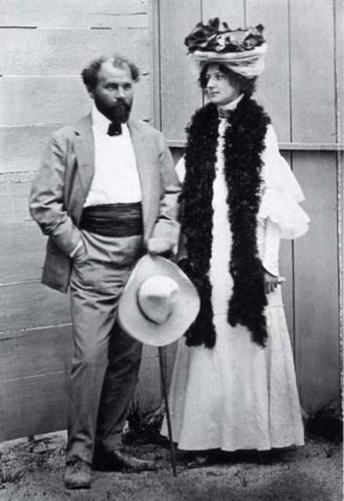 Emilie Floge and Gustav Klimt