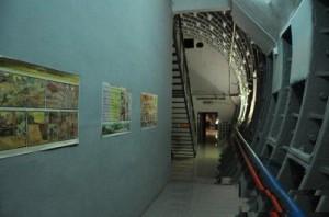 Tunnels inside the Bunker