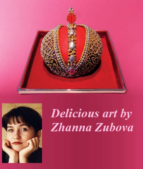 Delicious art by pastry chief artist Zhanna Zubova