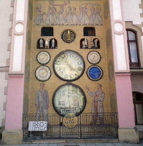 The short duration of life prevents us from making our hopes long. Beautiful Olomouc Town Hall with Astronomical Clock. Czech Republic