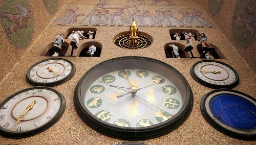 Czech Republic. Olomouc Town Hall with Astronomical Clock
