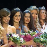Contestants of beauty pageant