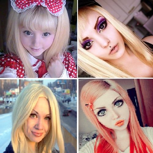 VenusAngelic from Sweden, Rose Shock from Finland, Nastya Spagina from Ukraine, and less famous Nastya from Russia.