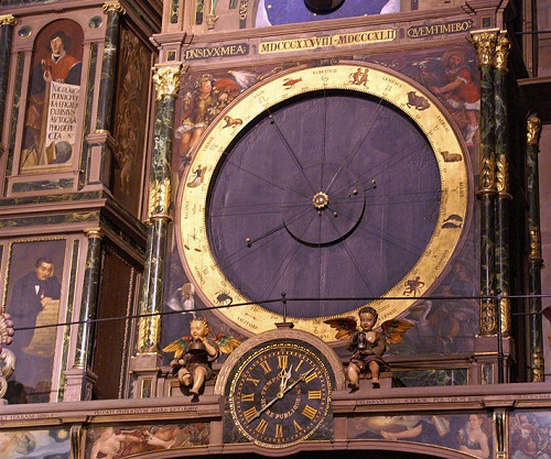 Astronomical Clock Strasbourg, France.