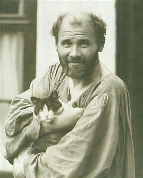 Austrian symbolist painter Gustav Klimt