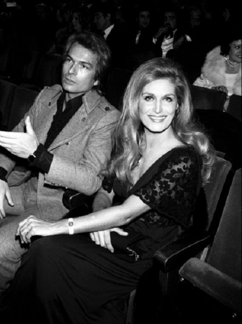 Dalida and  Richard Shamfre, artist and adventurer
