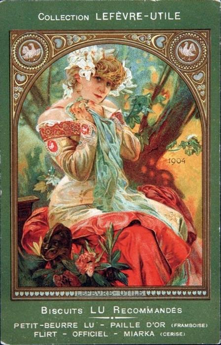 1904. Portrait de Sarah Bernhardt dans La Princesse lointaine