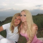 """Olga Oleinik (Dominica), and her """"soul brother"""""""