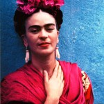 Frida Kahlo's red style