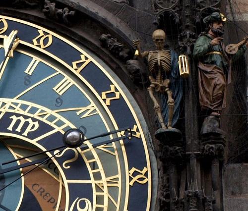 Amazing details, figurines of the Prague Astronomical Clock