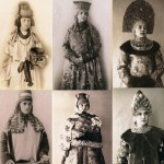 Unique collection of Russian costumes in Paris 1900