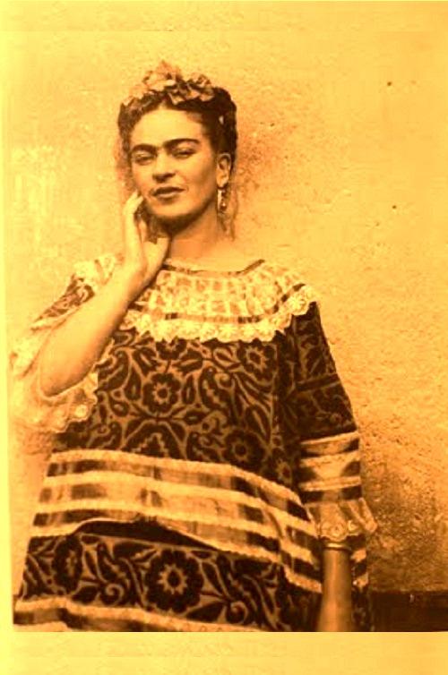 Mexican surrealist painter Frida Kahlo