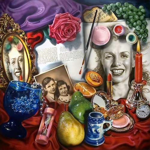 modern vanitas still life painting