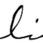 Signature of Dalida