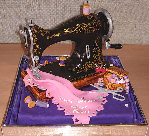 Sewing machine, 5 kg. Chocolate Foundation