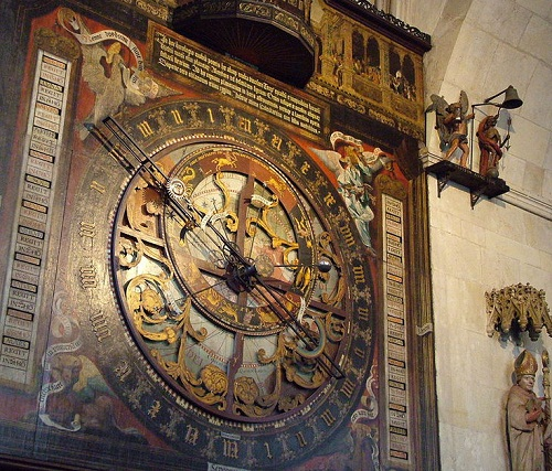 Munster Cathedral Astronomical Clock, 1540