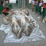 Dramatic 3D graffiti by Argentinian artist Eduardo Relero