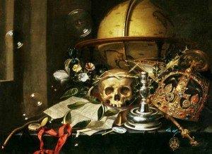 Vanitas still life symbolism