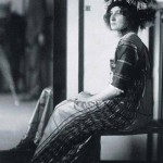 Emilia in the saloon, 1910