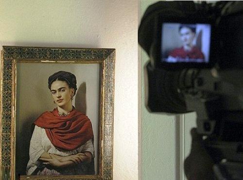 Frida Kahlo's Dresses on display at the Frida Kahlo museum
