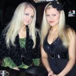 Olga Oleinik (left) and her fan