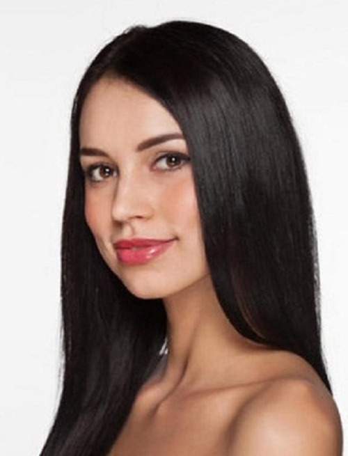 """Gorgeous brunette """"Krasa Rossii-2012"""" Elina Kireeva"""