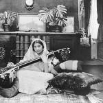 On leaving school Noor studied music for six years