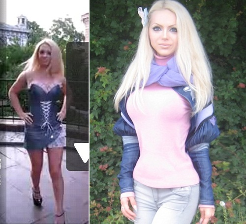 Olga Oleinik profitable image of Barbie