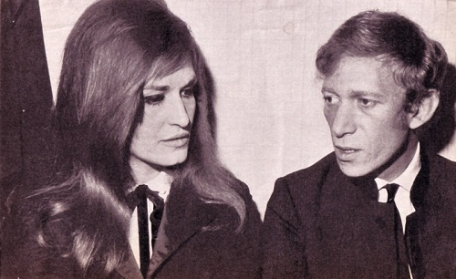 Lucien Morris and Dalida