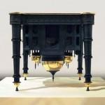 Belgian upside down Taj Mahal table
