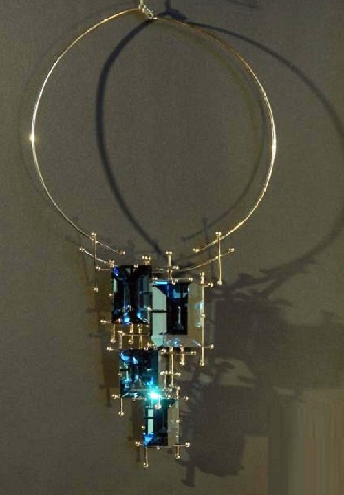 Necklace 'Stained Glass Windows'