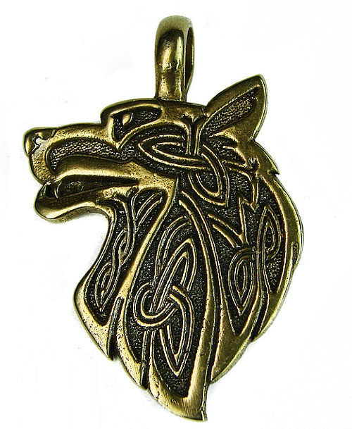 Jewelry is for men, the predator represents independence and strength.