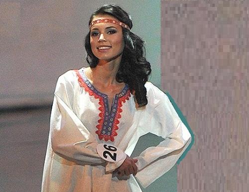 Participant of beauty pageant Elina Kireeva