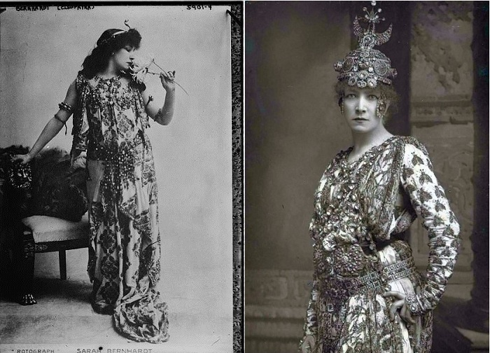 As Cleopatra and Phedre