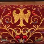 Carving, gold leaf