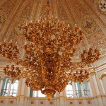 Chandelier in Palace of facets