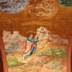 Biblical plot of painted arches