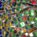 Airlie Gardens, North Carolina Bottle Chapel, close up