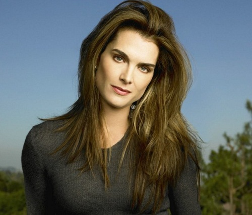 Hollywood actress Brooke Shields
