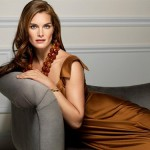 Fashion model and actress Brooke Shields