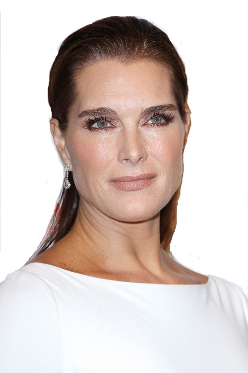 Aging gracefully Brooke Shields