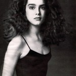 Young actress Brooke Shields