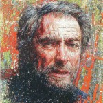 Clint Eastwood. Painted by Russian artist Nikas Safronov