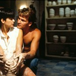 Patrick Swayze and Demi Moore in 1990 American romantic fantasy-thriller film Ghost