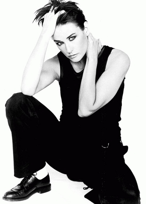 Stylish actress Demi Moore